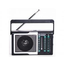 Радиоприемник  Эфир-16 , УКВ 76-108МГц, СВ 530-1600КГц, КВ, бат. 2*AA, акб 500mA/h