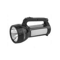 Фонарь PA-504 Трофи прожектор аккумуляторный 1W SMD LED боковой светильник- 24 SMD LED 2реж аккумулятор 4ч пластик кор (40)
