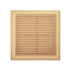 Решетка вент 210*210 рамка люкс Светло-коричневая
