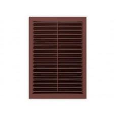 Решетка вент 200*300 сетка люкс Темно-коричневая