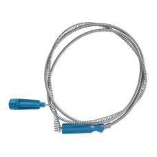 Трос сантехнический для прочистки канализационных труб 2,6м /100