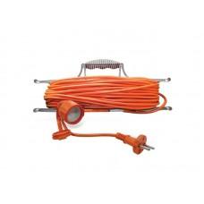 Удлинитель-шнур на рамке УШ-6 IP-54 ПВС 2*0,75 1гн. з/к 30м  UNIVersal