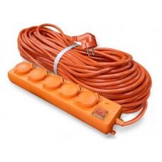 Удлинитель У10-026 IP-44 КГ 3*1,5 5гн. з/к, выключатель с индикацией 10м  UNIVersal