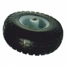 Колесо полиуретановое PU3504 10*3.5*4, 260*80мм, 130 кг,  черное