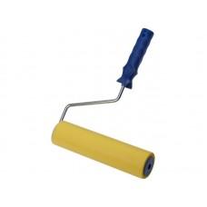Валик прижимной резиновый 250мм д/обоев желтый (12/48шт/уп)