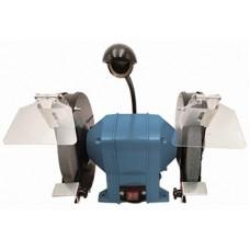 Станок точильный Willmark BG400WLED, 400Вт, 220В, 2950об,/мин. Размер круга 200*20*16мм. +Адаптер 32 мм. Подсветка  LED