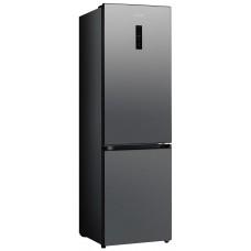 Холодильник WILLMARK RFN-454DNFD (345л.,Total NoFrost, дисплей,нижн.мор.кам.,A+, цвет тёмн нерж.ст)