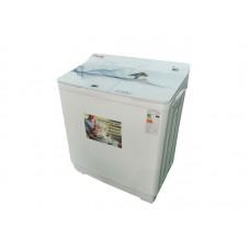 Стиральная машина OPTIMA МСП-125СТ (полуавтомат, насос, макс.загрузка 12.5кг) Белое стекло, река