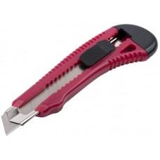 Нож технический Оптима 18мм пластиковый корпус (15/300шт/уп)