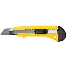 Нож технический Дед Банзай усиленный, лезвие  100*18*0,4мм, металлическая направляющая (12/144шт)