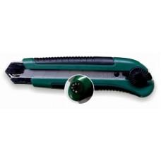 Нож технический Дед Банзай усиленнный, лезвие 125*25*0,7мм, сталь SK5,  обрез, метал. направляющая, вращ.прижим (12/72шт)