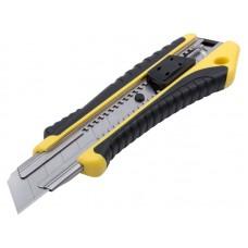 Нож технический 25мм усиленный (12/144шт/уп)