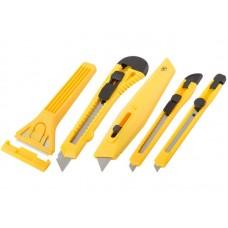 Ножи и скребки в наборе 5шт (50/100шт/уп)