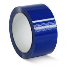Скотч цветной 48мм/23м синий из полипропиленовой пленки (OPP или BOPP) с нанесенным акриловым клеевым слоем на водной основе