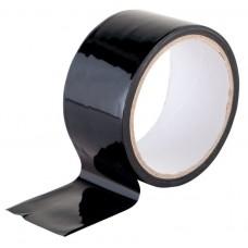 Скотч цветной 48мм/23м черный из полипропиленовой пленки (OPP или BOPP) с нанесенным акриловым клеевым слоем на водной основе