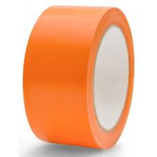 Скотч цветной 48мм/60м оранжевый из полипропиленовой пленки (OPP или BOPP) с нанесенным акриловым клеевым слоем на водной основе