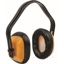 Наушники шумозащитные, регулируемые, облеченные, пластиковый корпус. Ограничение шума на 20 ДБ (NRR). Упаковка: п/э пакет с подвесом.