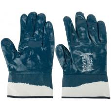 Перчатки рабочие с полным двойным нитриловым обливом ( краги )