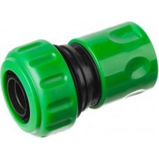 Соединитель 3/4  с аквастопом диаметр штуцера 16мм материал: полипропилен, упаковка: подвесная карта