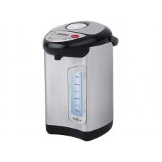 Термопот WILLMARK WAP-502IS (4.8л, 2 сп. нал.воды,повт.кипяч.,металлик,чер. пластик, 900W, 2 г. гар.)