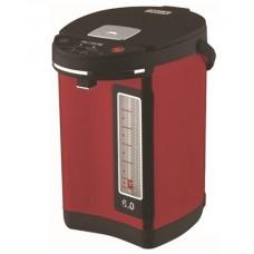 Термопот WILLMARK WAP-602CKL Бордовый (6,3л, 2 сп. нал. воды,повт. кипячение, 900Вт) Бордовый