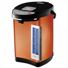 Термопот WILLMARK WAP-502KL (5,0л, 2 сп. налива воды, 900Вт) Темно-Оранжевый