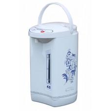 Термопот WILLMARK WAP-453CGZ (4,5л, 3 сп. налива воды, гжель, 800Вт)