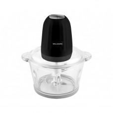 Измельчитель WILLMARK WMC-7088 (500Вт., стекл. чаша 2л., двойн. лезвия., рез. основание) Черный