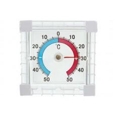 Термометр оконный Биметаллический квадратный ТББ пакет