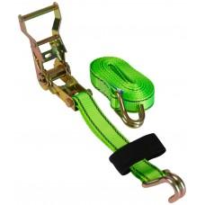 Ремень для крепления груза Дед Банзай 25мм *4м ( нагрузка до 1,5т., полиэстер, сталь ). (10/20)