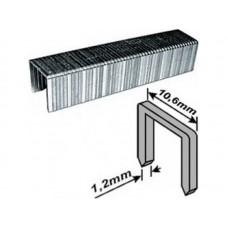 Скобы для степлера 10,6*14*1,2мм 500шт тип 140 широкие (20/180шт/уп)
