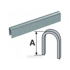 Скобы для степлера 10мм 500шт тип 28 круглые каленые (20/360шт/уп)
