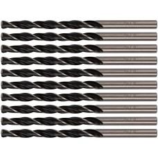 Сверла по металлу HSS черненые 4,5x80 мм (10 шт.)