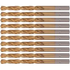 Сверла HSS по металлу, титановое покрытие 6,0 мм (10 шт.)