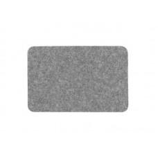 Коврик влаговпитывающий Soft 40*60см серый, полипропилен, латекс (20)