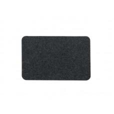 Коврик влаговпитывающий Soft 40*60см чёрный, полипропилен, латекс (20)