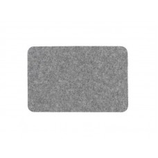 Коврик влаговпитывающий Soft 50*80см серый, полипропилен, латекс (15)