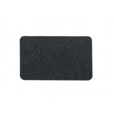 Коврик влаговпитывающий Soft 50*80см чёрный, полипропилен, латекс (15)