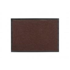 Коврик влаговпитывающий Ребристый 40*60см коричневый полиэстер, ПВХ (15)