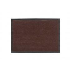 Коврик влаговпитывающий Ребристый 50*80см коричневый полиэстер, ПВХ (10)
