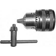 Патрон для дрели, ключевой 1/2  - 10мм (с ключом Т-образным) (100шт/уп)