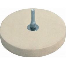 Круг полировочный фетровый 115мм (10/100шт/уп)