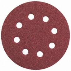Круги шлифовальные WILLMARK Р40 5 шт D=125мм с отв  (200шт)
