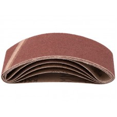 Лента шлифовальная 5шт 75*457мм Р60 на тканевой основе (30/60шт/уп)