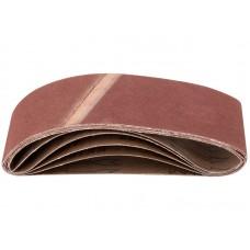 Лента шлифовальная 5шт 75*457мм Р100 на тканевой основе (30/60шт/уп)