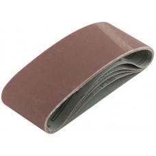 Лента шлифовальная 5шт 75*457мм Р180 на тканевой основе (30/60шт/уп)