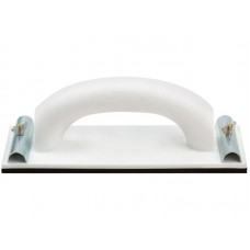 Терка 230х80мм для наждачной бумаги пласт.с металлическим прижимом (10/50шт/уп)