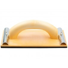 Терка 230х120мм для наждачной бумаги пласт.с металлическим прижимом (10/50шт/уп)