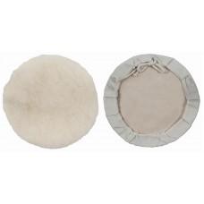 Чехол полировочный на завязках 125мм иск.шерсть на тканевой основе (150шт/уп)