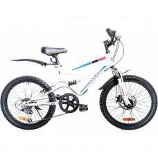 Велосипед Torrent Spider Черный, белый (рама СТАЛЬ 14 , подростковый, 7 скоростей, SHIMANO, колеса 20д) 20  / 14  / Черный, белый